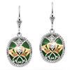 Irish Promise Claddagh Earrings