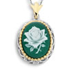 My Wild Irish Rose Cameo Pendant